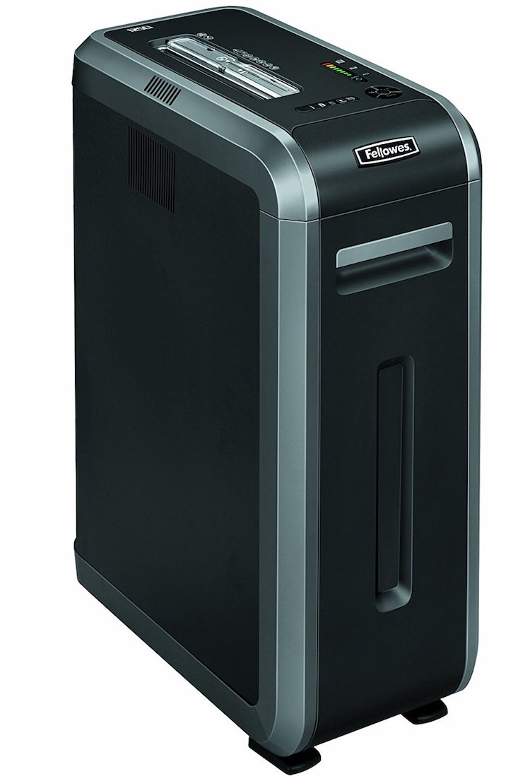 Fellowes 125Ci 100% Jam Proof Heavy Duty Commercial Paper Shredder