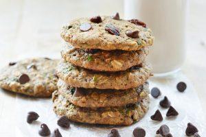 Kale Oatmeal Cookies