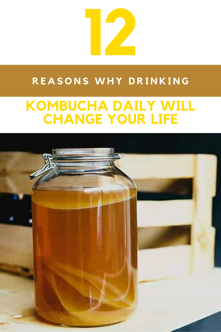Kombucha Benefits: 12 Reasons Why Drinking It Daily Will Change Your Life