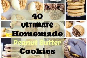 40 Ultimate Homemade Peanut Butter Cookie Recipes. | Ideahacks.com