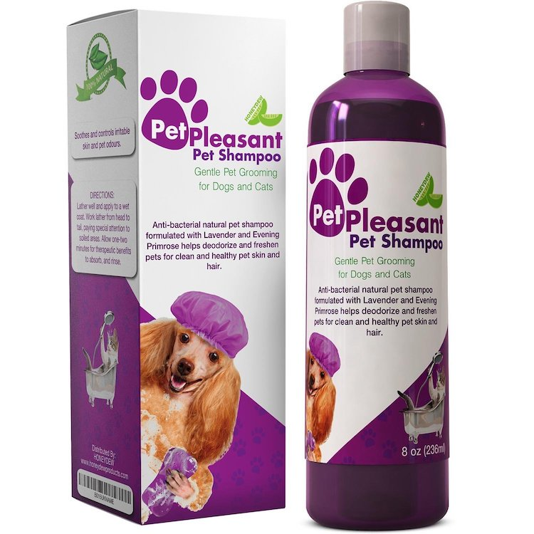 Pet Pleasant Natural Pet Shampoo For Dogs