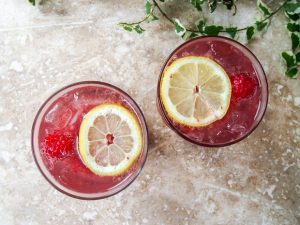 Raspberry Chia Lemonade