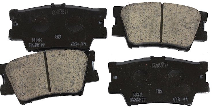 Toyota Genuine Parts Rear Brake Pad Set