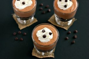 Chocolate cheesecake mousse 3