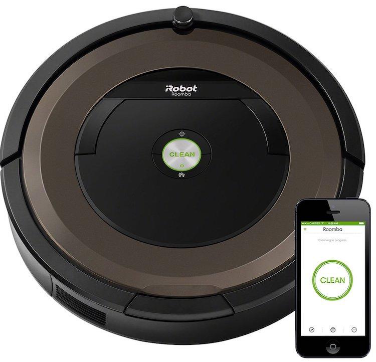 iRobot Roomba 890 Wi-Fi Connected Robotic Vacuum