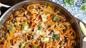 sweet peas and saffron