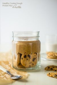 Cookie Dough Protein Almond Butter
