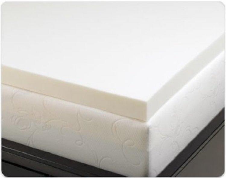 Density Vesco Elastic Memory Foam Mattress Bed Pad