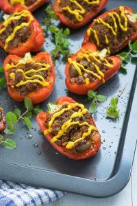 Easy Paleo Stuffed Peppers