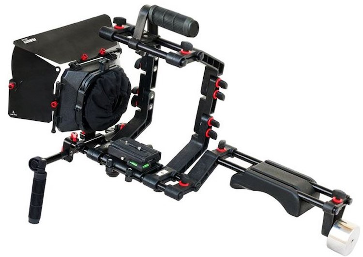 FILMCITY DSLR Camera Cage Shoulder Rig