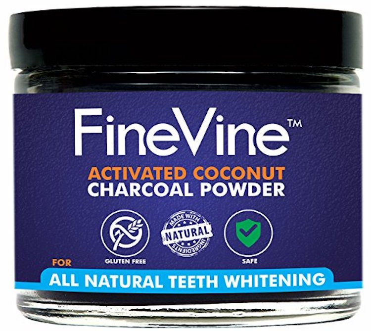 FineVine Organics Activated Charcoal Powder