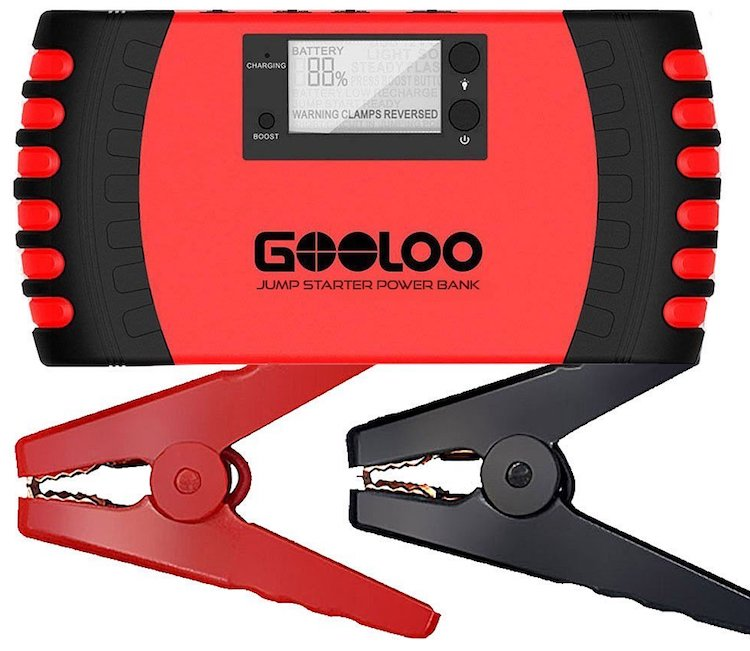 Top 10 Best Portable Battery Jump Starters Reviewed In 2019