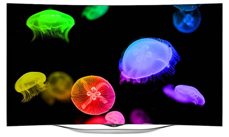 LG Electronics 55-Inch 1080p 3D Curved OLED TV