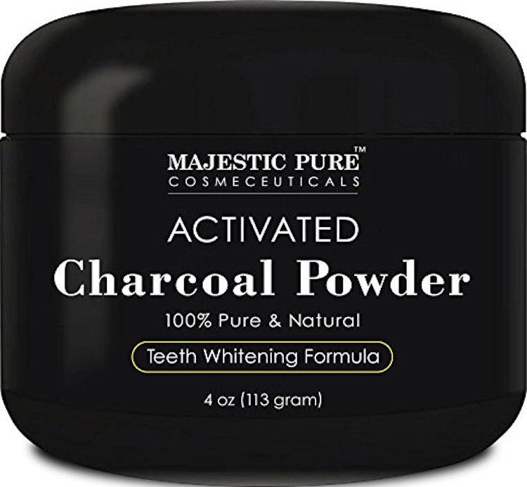Majestic Pure Teeth Whitening Activated Charcoal Powder