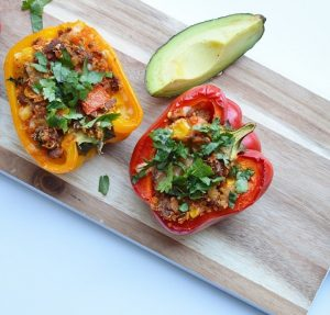 Mexican Stuffed Taco Peppers