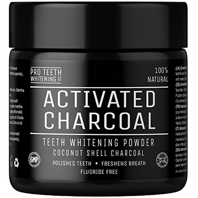 Pro Teeth Whitening Activated Charcoal Powder