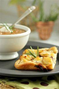 Roasted Potato & Onion Focaccia