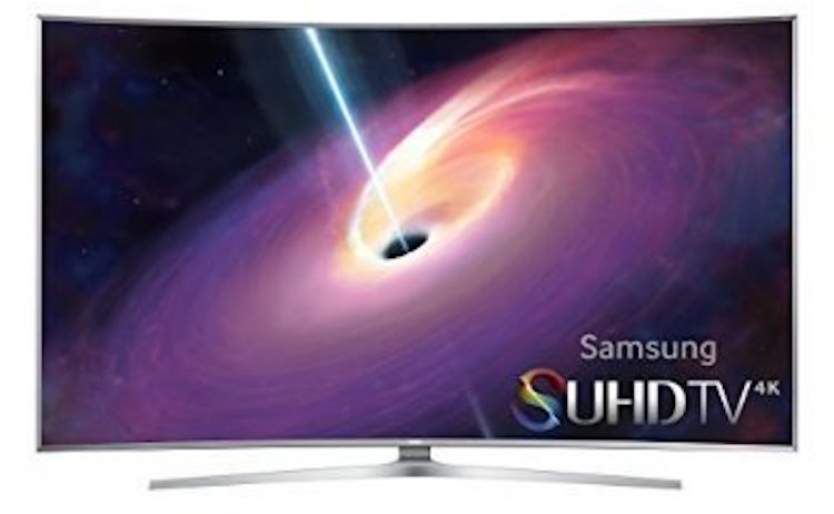 Samsung Curved 55-Inch TV
