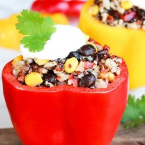 Southwest Grains Stuffed Peppers