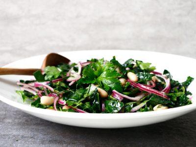Tuscan Kale White Bean Salad