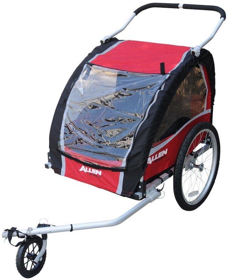 Allen Sports Premium Aluminum 2 Child Bicycle Trailer