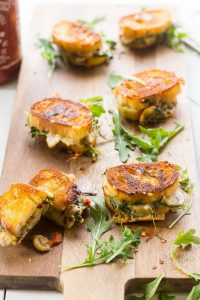 Appetizer Grilled Cheese Sandwiches