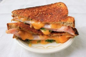 Arugula Ham Grilled Cheese