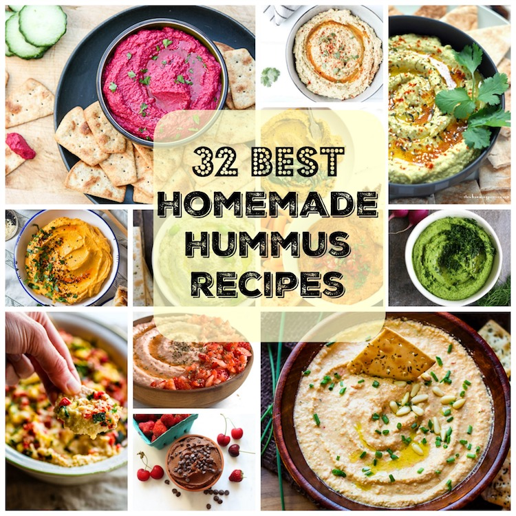 32 Must Make Hummus Recipes