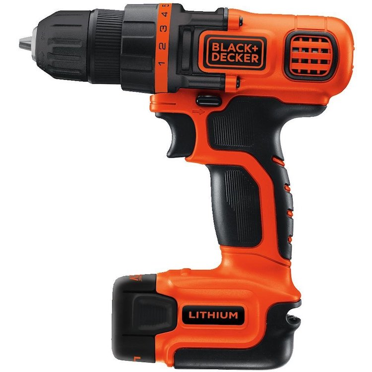 Black & Decker 12-Volt MAX Lithium-Ion Drill
