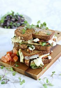 Cobb Salad Grilled Cheese