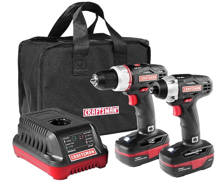 Craftsman C3 19.2 Volt Drill and Impact Driver
