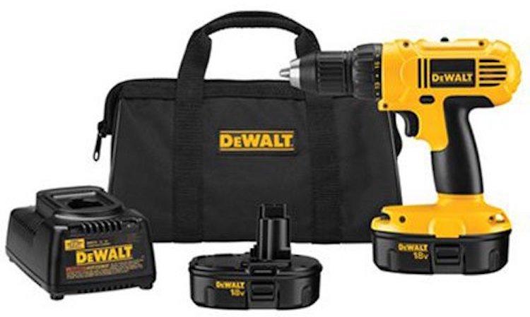 Dewalt DC970K-2 18-Volt Compact Drill