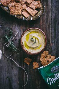 Garlic & Rosemary Hummus