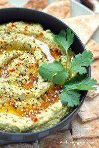 Green Chili Hummus