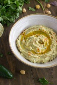 Jalapeño Lime Hummus