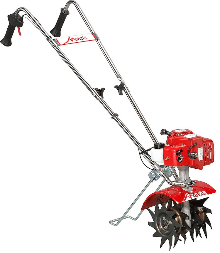 Mantis 7225-15-02 2-Cycle Gas-Powered Tiller