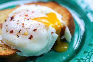 Poached Eggs Soup