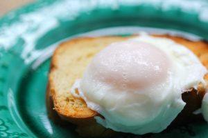 Poached Fresh Eggs