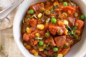 Sausage Vegetable Gnocchi Skillet