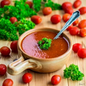 Tomato & Pepper Soup