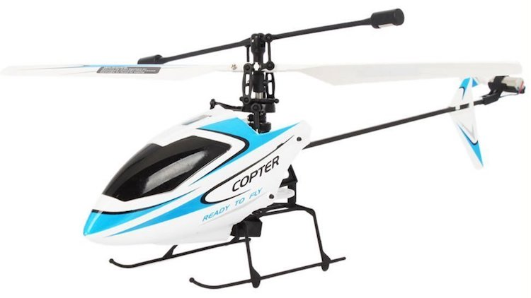 4CH Mini Radio Single Propeller RC Helicopter