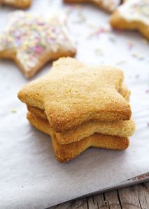 Almond Flour Coconut Sugar Cookies