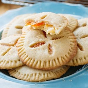 Apricot Sugar Cookie Pies