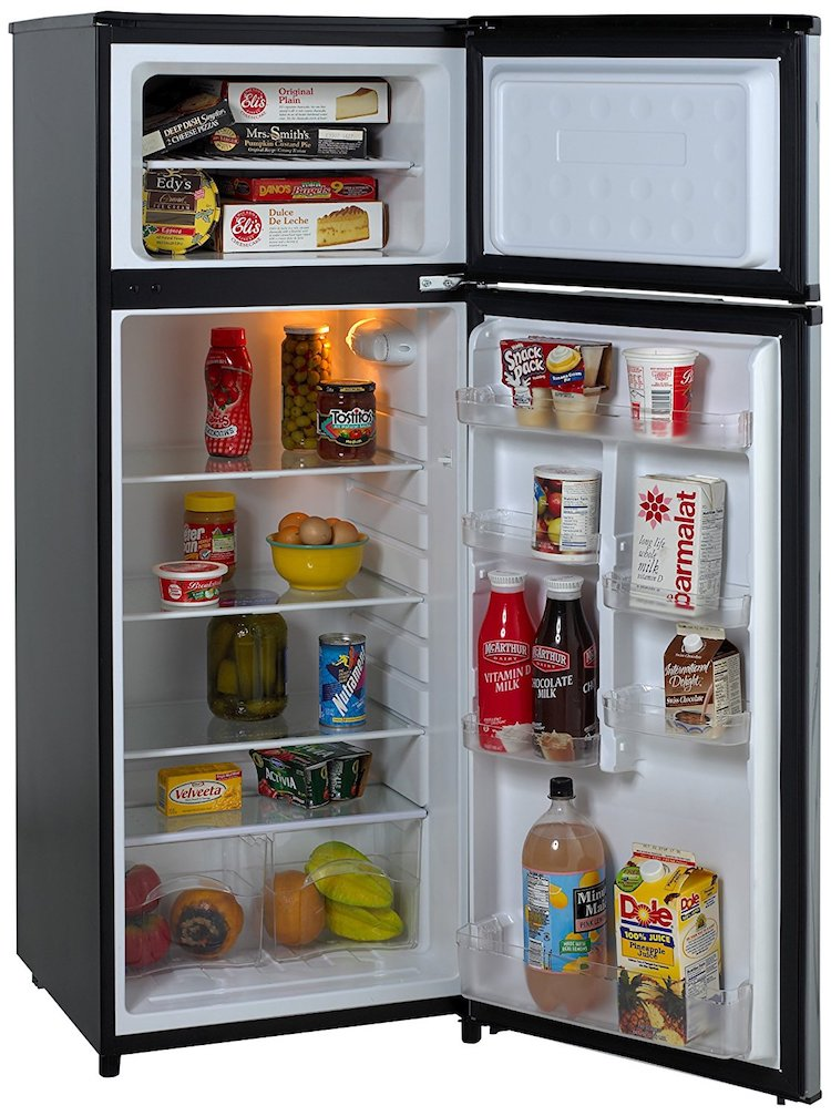 Avanti 2-Door Apartment Size Refrigerator