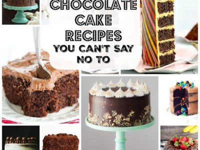 30 Chocolate Cake Recipes You Can't Resist