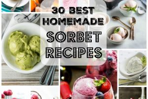 30 Best Homemade Sorbet Recipes. | Ideahacks.com