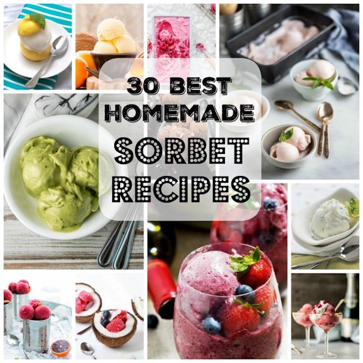 30 Best Homemade Sorbet Recipes. | Ideahacks.com
