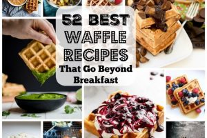 52 Waffles Recipes That Go Beyond Breakfast. | Ideahacks.com