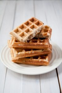 Buckwheat Flour Morning Waffles