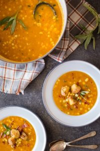 Butternut Squash Corn Chowder